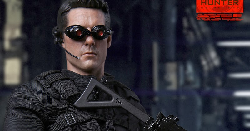 toyhaven: Preview VTS Toys 1/6th Agent Hunter 12-inch ...