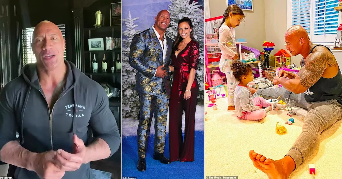 Dwayne 'The Rock' Announces That He And His Family Have All Tested Positive For CoVid-19