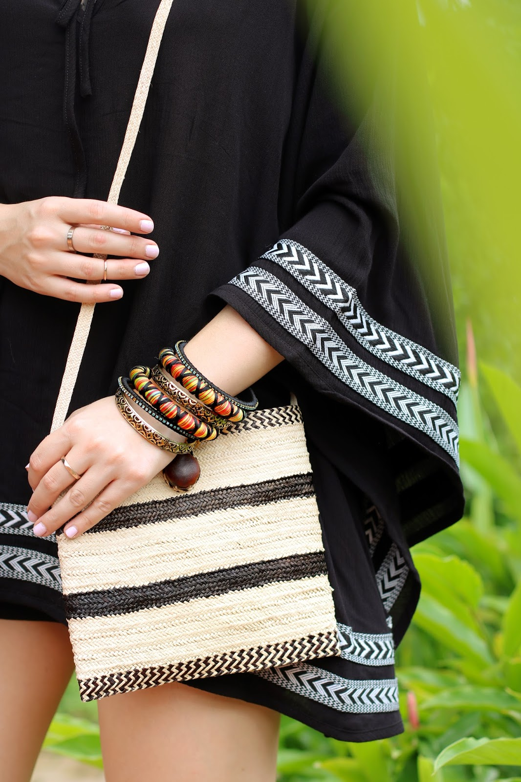 These boho bangles are the perfect Summer accessory!