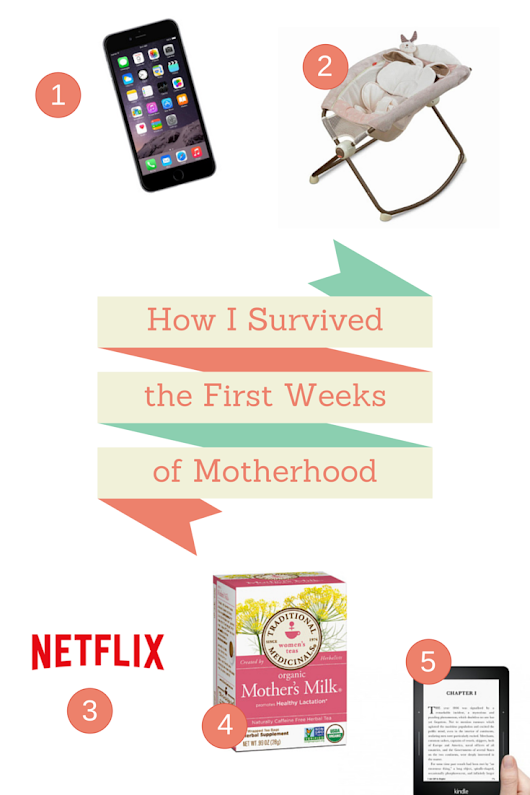How I Survived the First Weeks of Motherhood