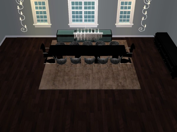 Rougue S Designs For The Sims 2 Faux Fur Area Rugs