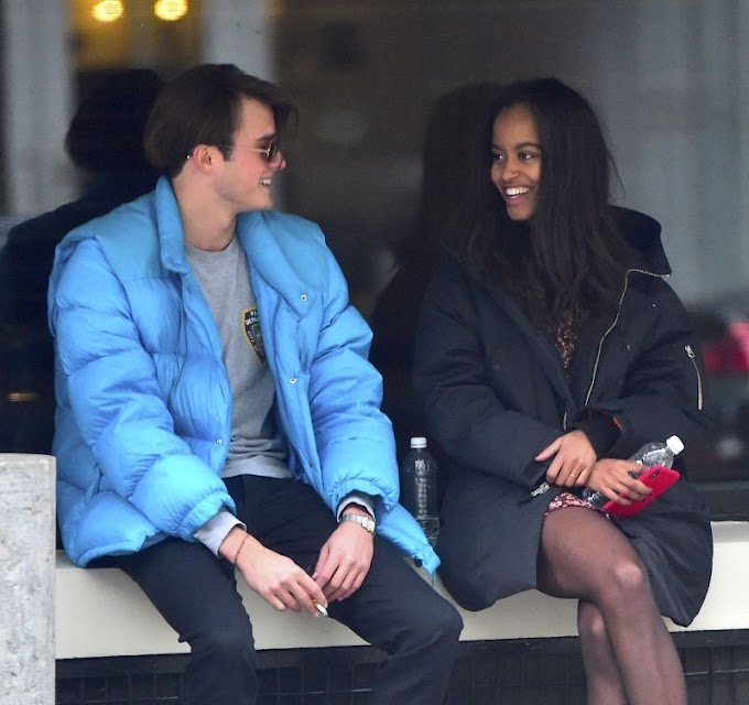 Malia Obama wears $69 dress on NYC date with posh British boyfriend