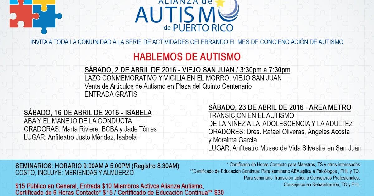 Alianza de Autismo y Desórdenes Relacionados de Puerto Rico ...