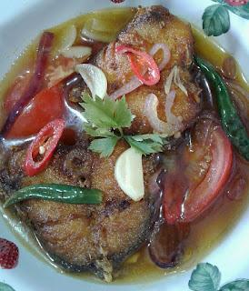 Resepi Ikan Masak Cuka Utara