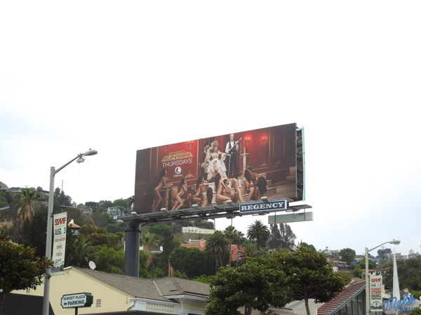Project Runway season 12 billboard Sunset Strip