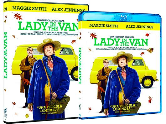 A la venta 'Lady in the Van' en DVD y Blu-ray