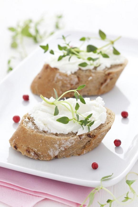 Tartines De Fromage Blanc
