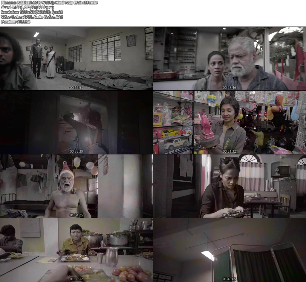 Rakkhosh 2019 WebRip Hindi 720p ESub x264 | 480p 300MB | 100MB HEVC Screenshot