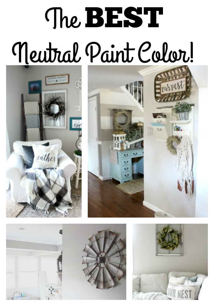 the best neutral paint color the glam farmhouse. Black Bedroom Furniture Sets. Home Design Ideas