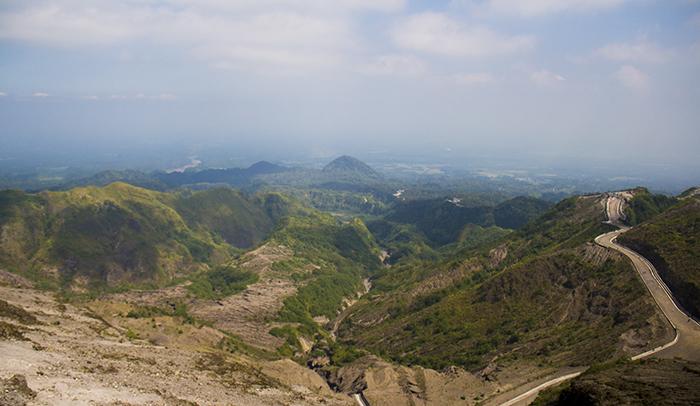 Bentang Barat Gunung Kelud