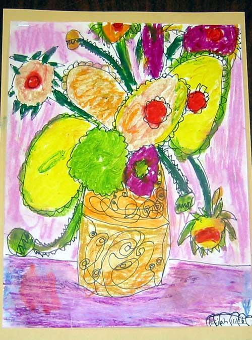 Rumriver Art Center Art Projects For Homeschoolers Artist Van Gogh Sunflowers