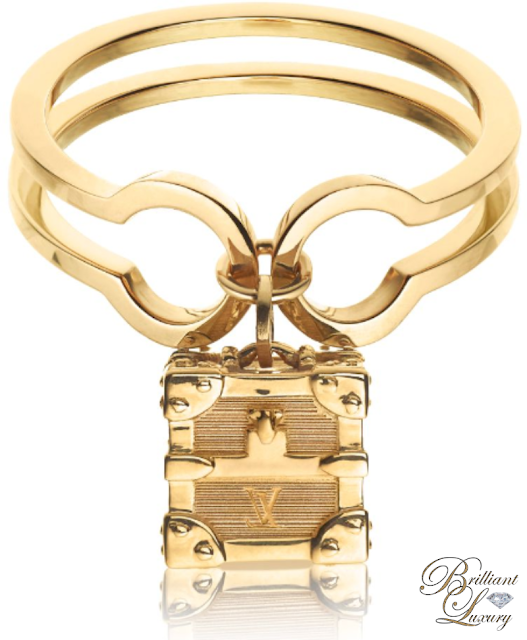 Brilliant Luxury ♦ Louis Vuitton Petite Malle Ring