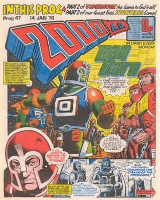 2000 AD #47, Dan Dare
