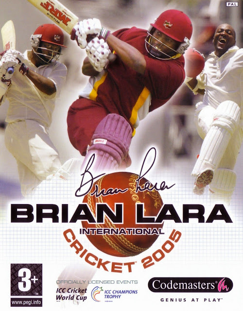 Brial-Lara-International-Cricket-2005-Cover