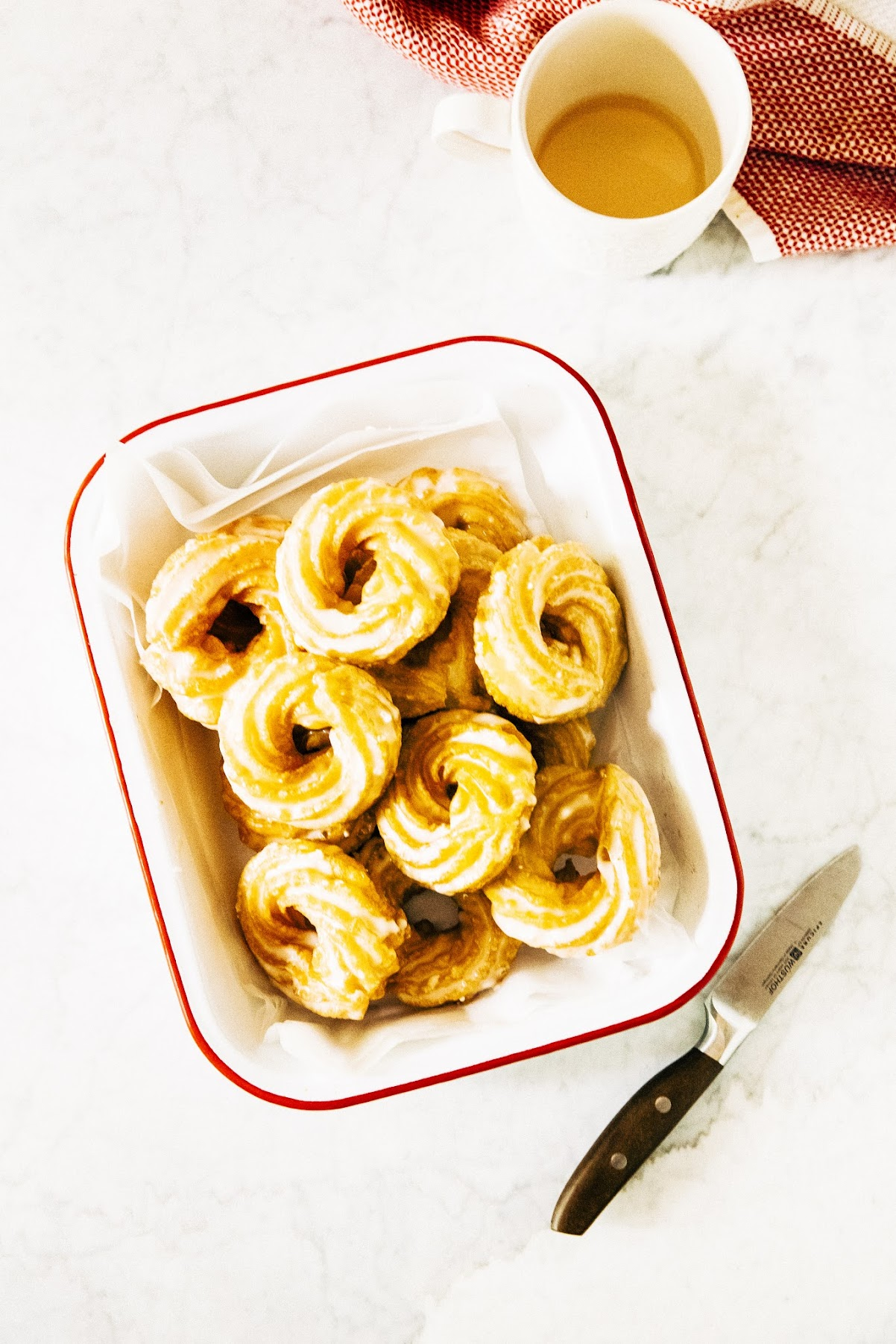 Apple Cider Crullers Hummingbird High A Desserts And