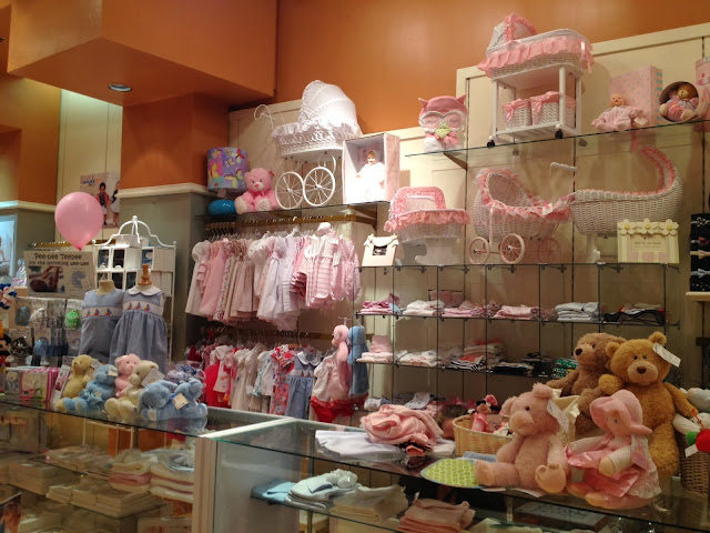 Stores specialized in babies