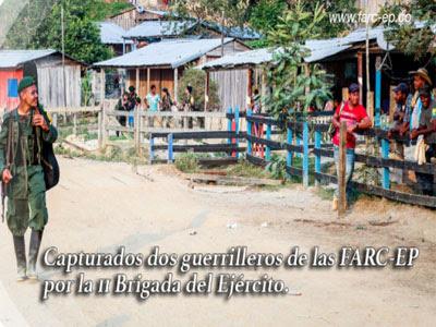 Cuarto frente de las FARC-EP confirma captura de dos de sus integrantes