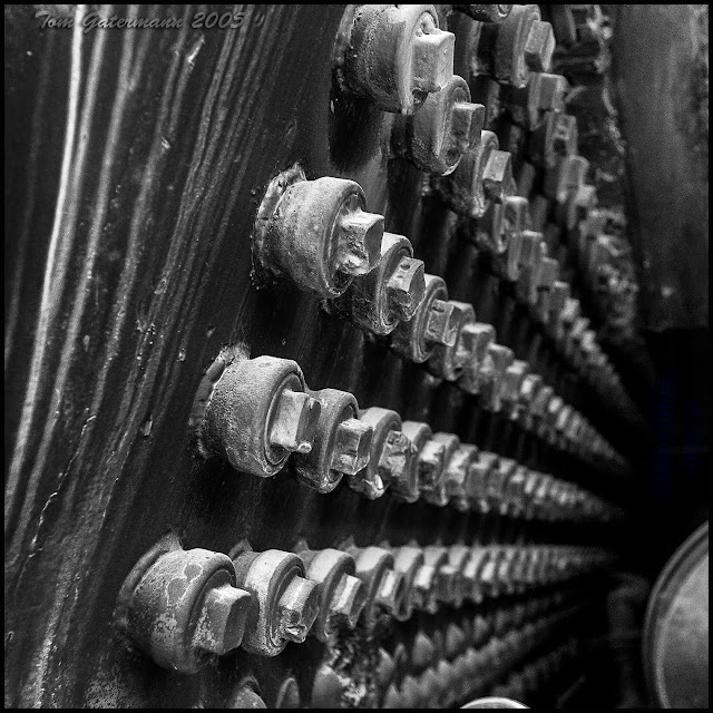 Steam Locomotive Stay Bolts - Museum Of Transportation