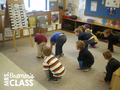 Practicing letter recognition and sounds with movement- FREE chart download!
