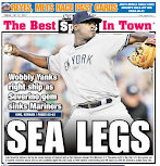 Yanks rolling in back pages