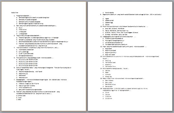 Berikut ini adalah berkas Contoh Soal UTS SMP Contoh Soal UTS SMP Kelas 7 Semester 1 IPS
