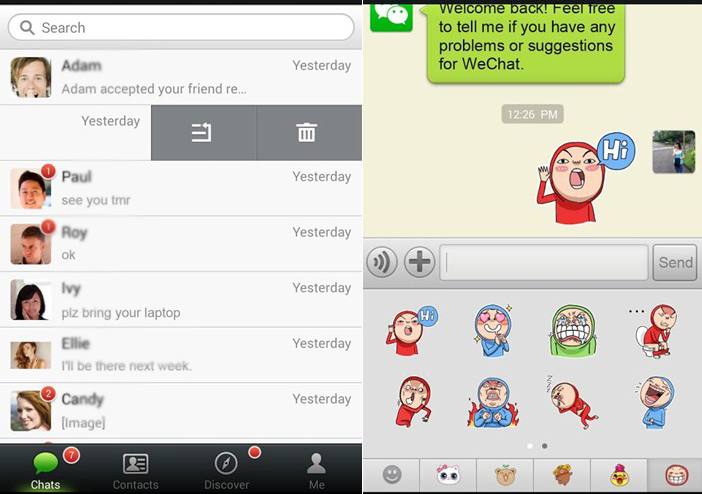 Wechat Best Application alternative