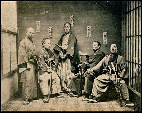 Rarest Historical Photos, That you can Never Forget. - Samurai warriors, around 1850