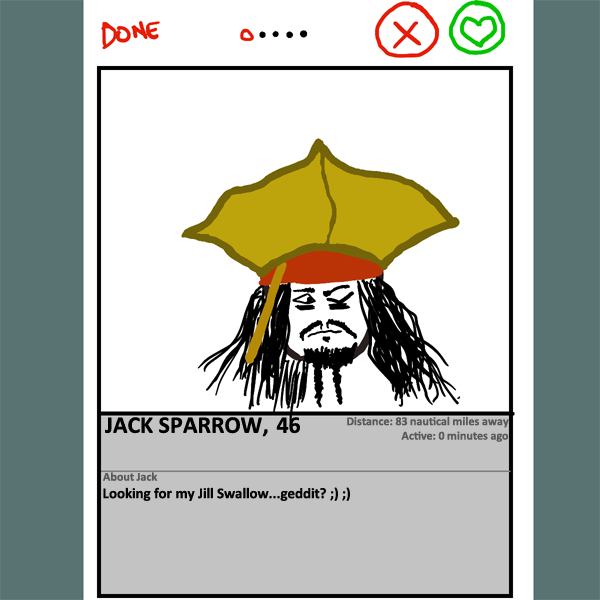 Why Jack Sparrow is lonely