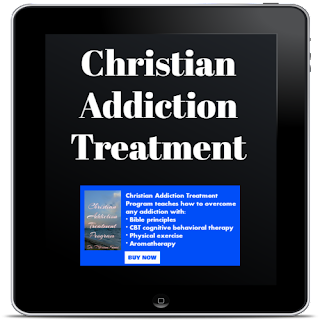 Christian addiction treatment book banner