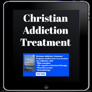 Christian addiction treatment book banner