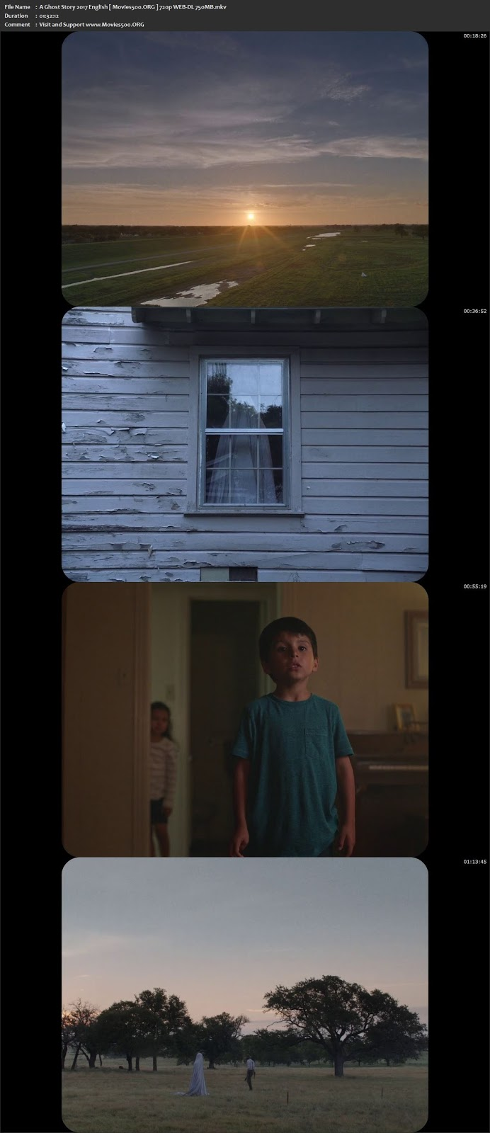 A Ghost Story 2017 English Full Movie WEB DL 720p at movies500.site