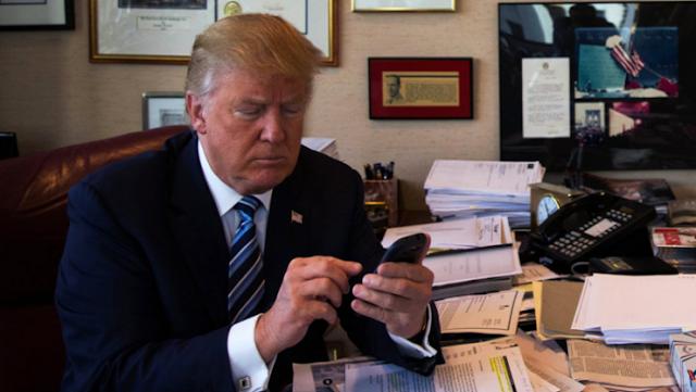 هذا هو التطبيق الوحيد الذي يستخدمه 'ترامب' على هاتفه من نوع 'آيفون' تعرفوا عليه