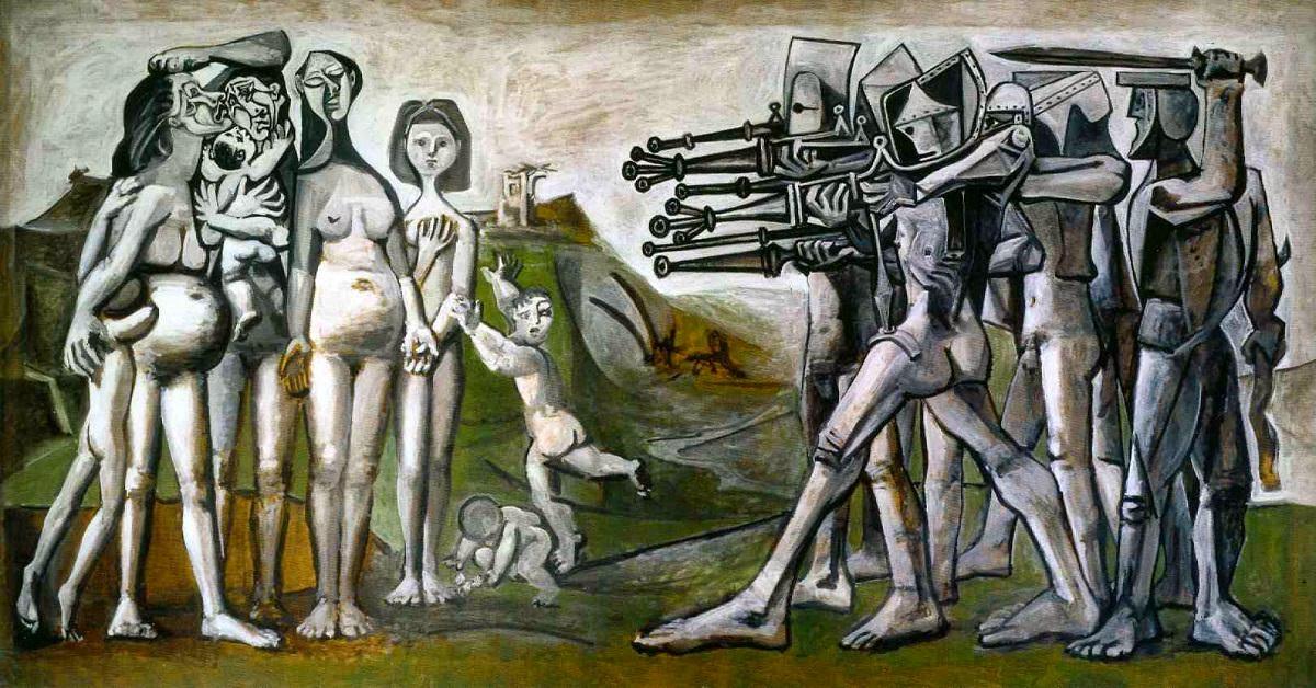 Massacre na Coreia - Picasso e suas pinturas ~ O maior expoente da Arte Moderna