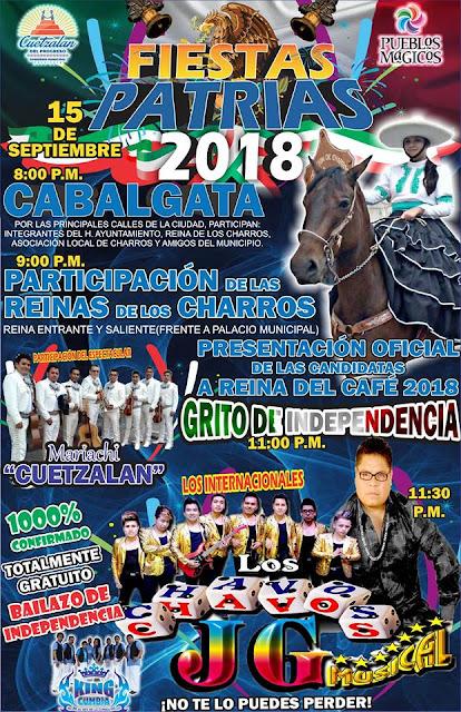 fiestas patrias cuetzalan 2018
