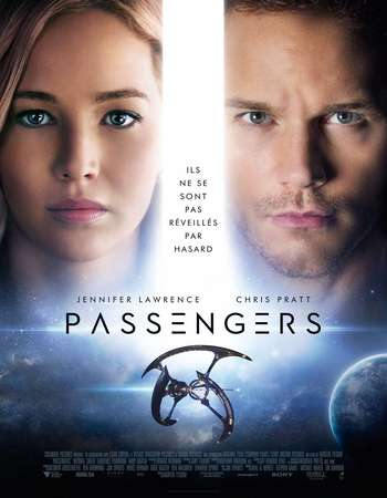 Poster Of Passengers 2016 Hindi Dual Audio 300MB HDCAM 480p Free Download Watch Online downloadhub.in