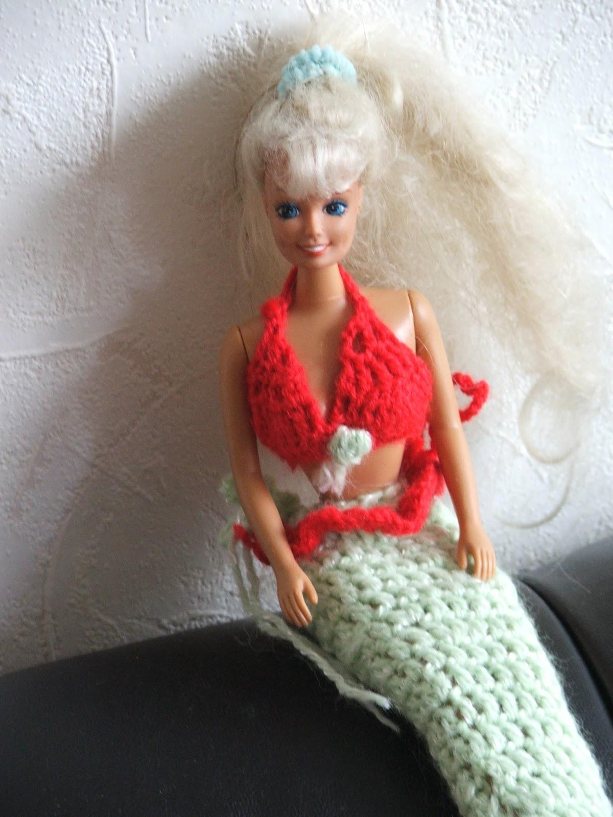Authicraft Barbie Wordt Een Zeemeermin