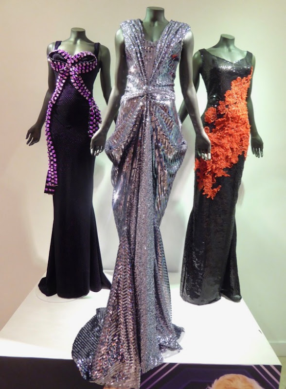 RuPauls Drag Race judges table gowns