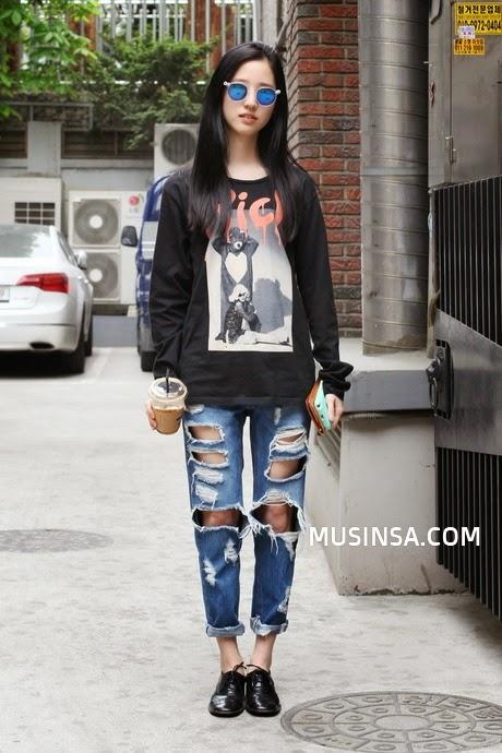Korean ladies casual fashion