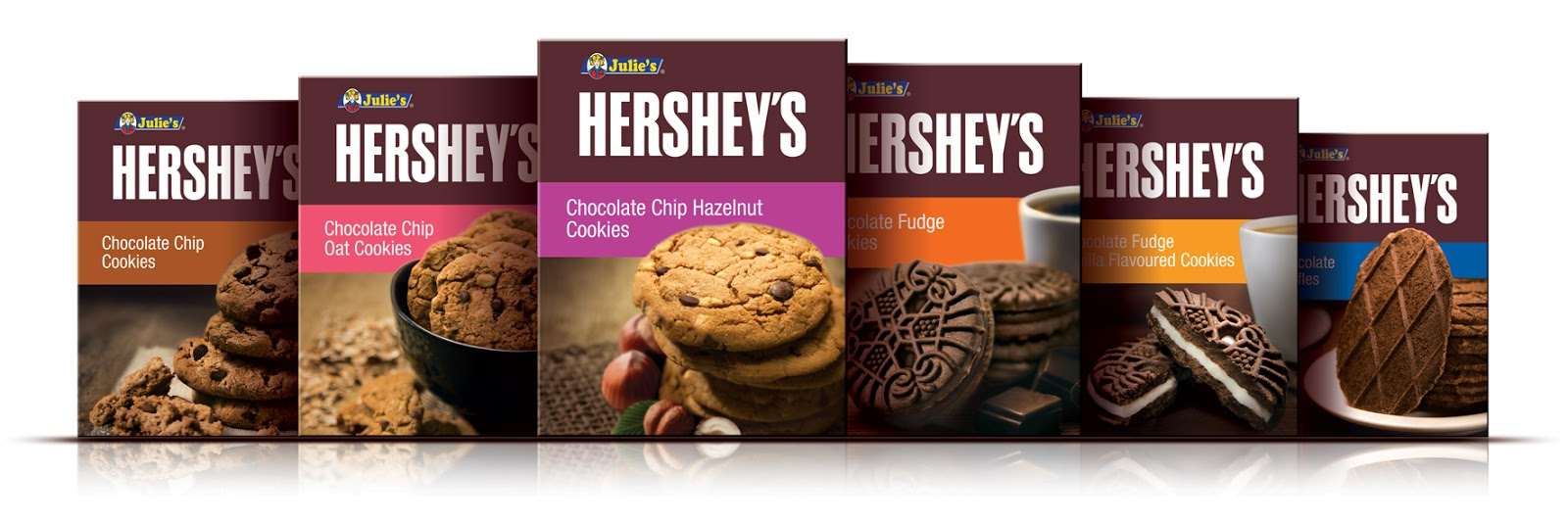 Six new Julie's Hershey's Cookies