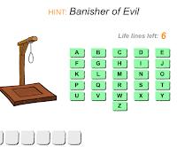 ancient Egypt hangman game