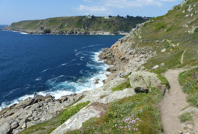 Approaching Lamorna Cove