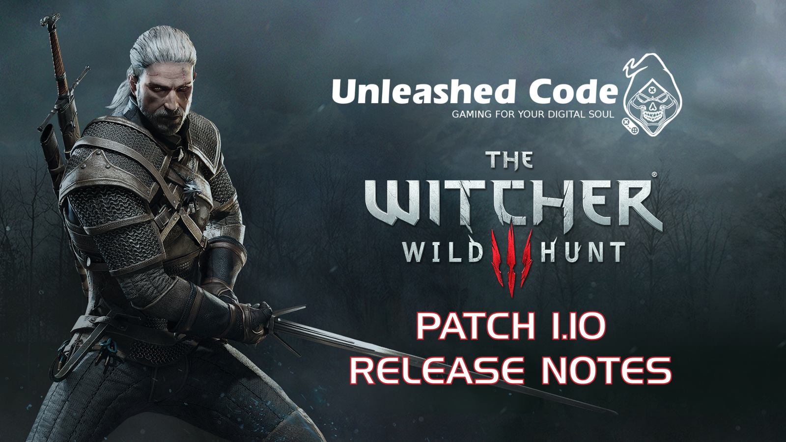 Unleashed Code: The Witcher 3 Patch 1 10 Release Notes