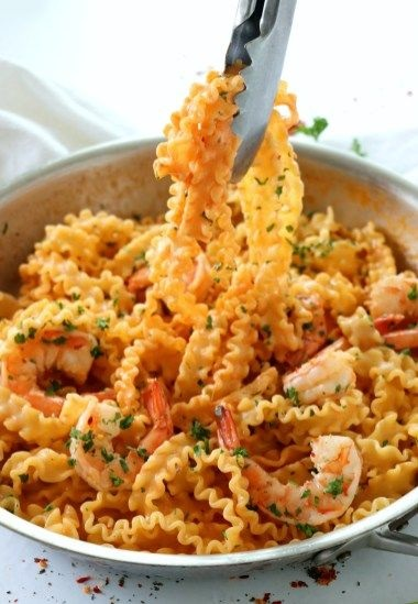 Drunken Shrimp Pasta