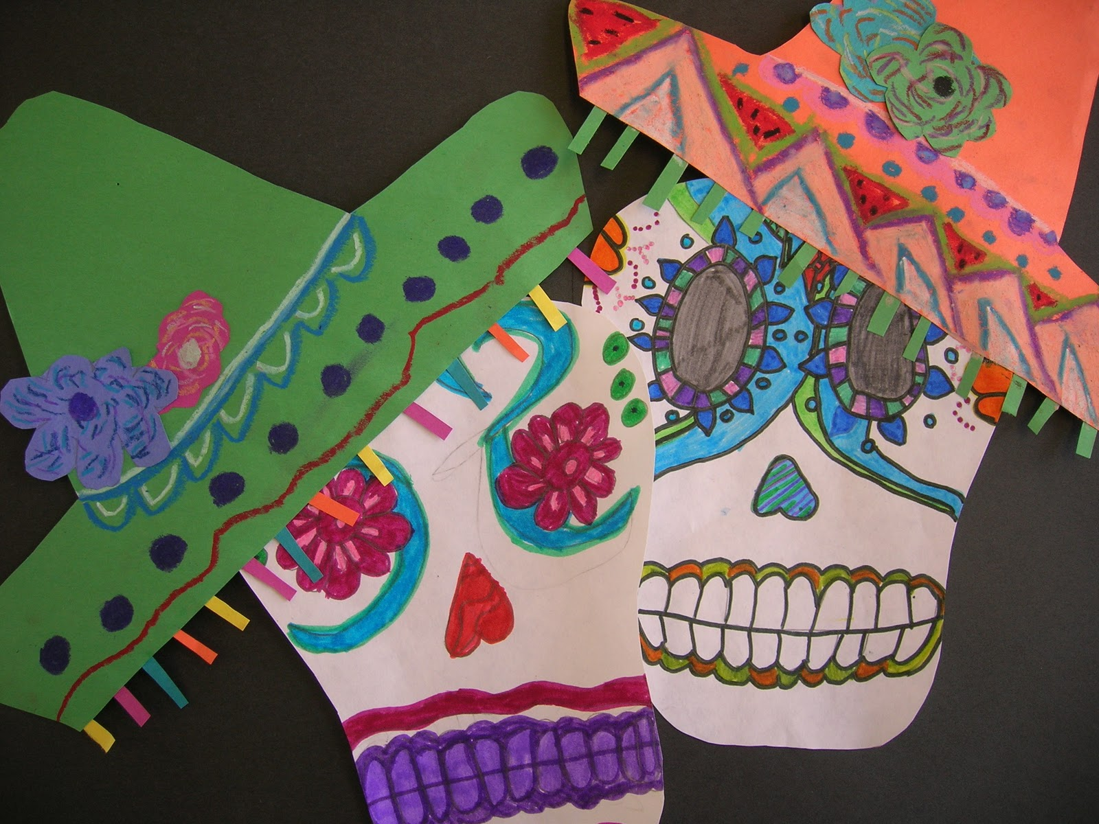 The Elementary Art Room Day Of The Dead