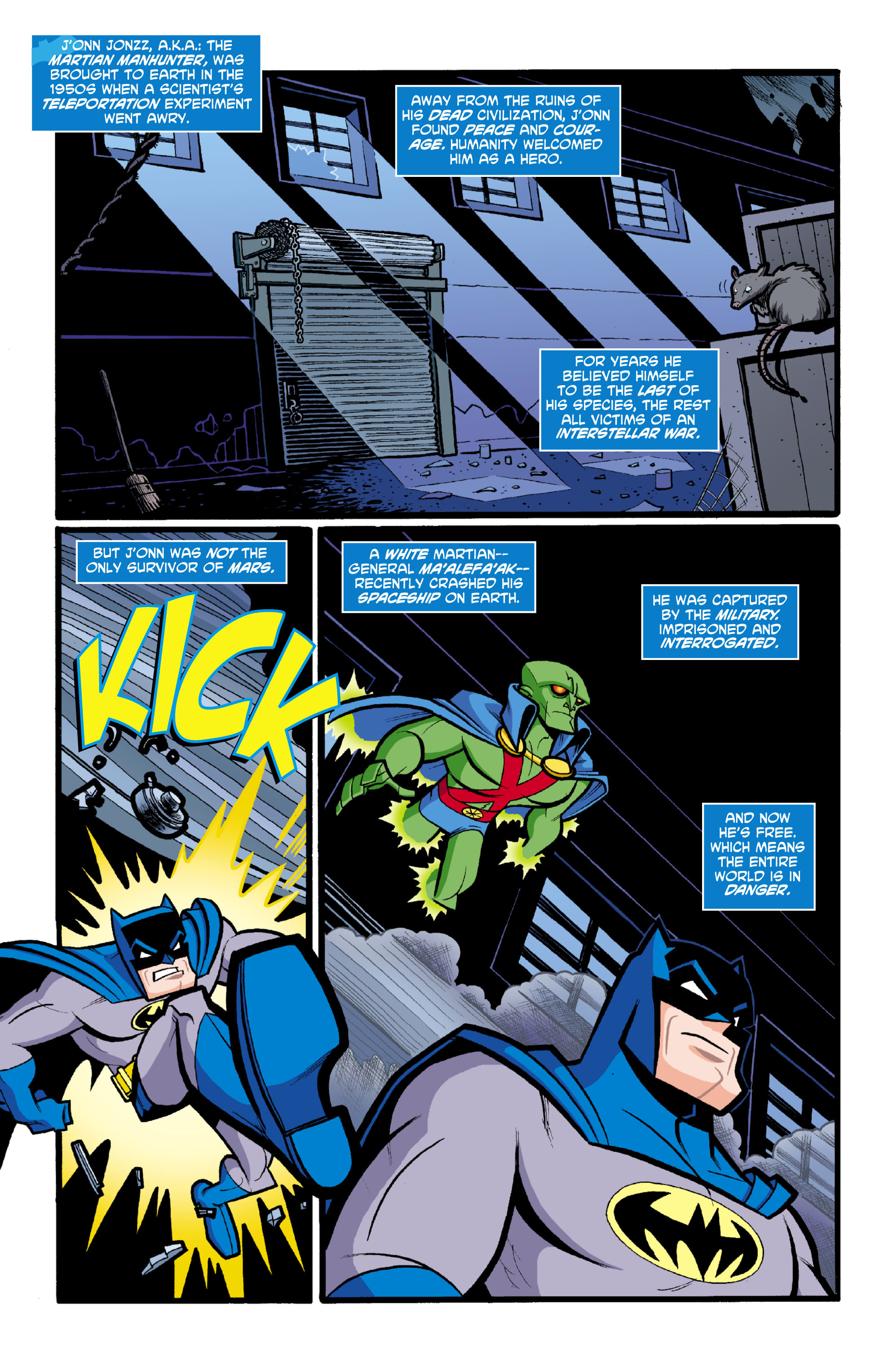 Batman: The Brave and the Bold 18 Page 2
