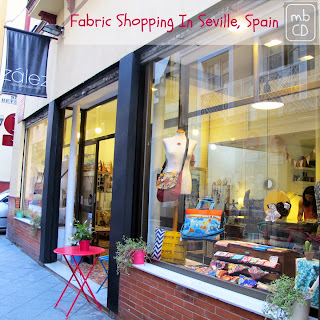 Zalez Fabric Store, Seville, Spain by madebyChrissieD.com