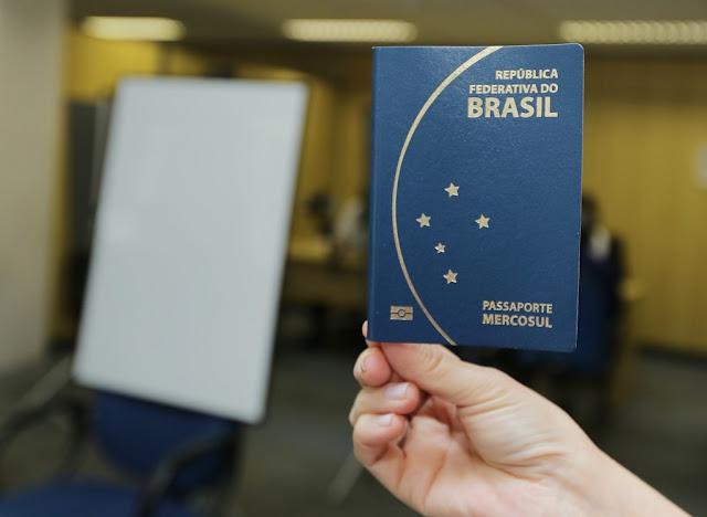 Passaporte - entrada no Chile