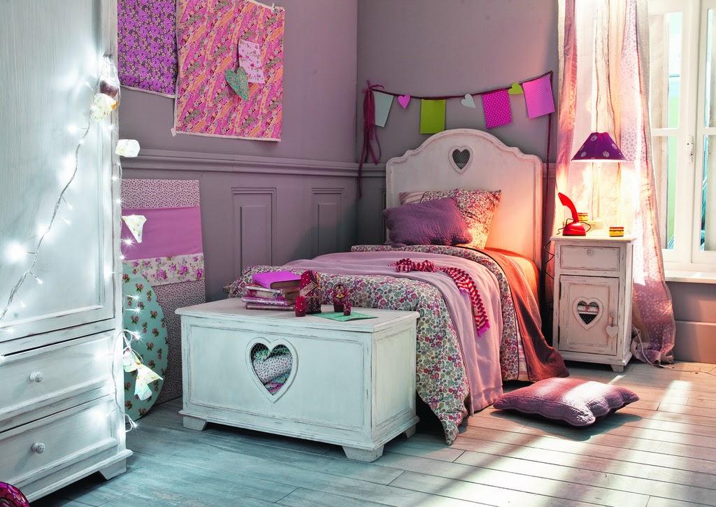dormitorios para ni a en rosa y morado dormitorios