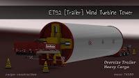 ETS2 Reboque - Torre Turbina Eólica Para V.1.28.X By: SASq