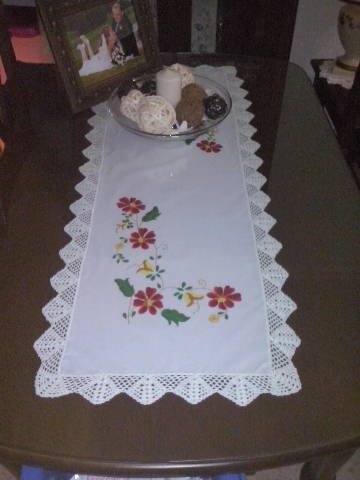 El blog de evelyn camino de mesa for Caminos para mesas
